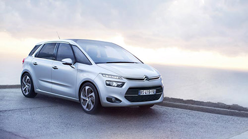Дизайн Citroen C4 Picasso New